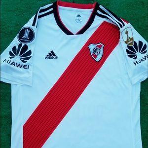 a7d0139318a adidas Shirts - 2018 River Plate Soccer Jersey Quintero Adidas